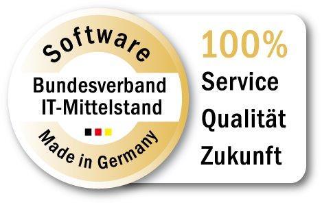 """""""Software made in Germany"""" soll ein Siegel für deutsche Programmier- und Servicequalität sein."""