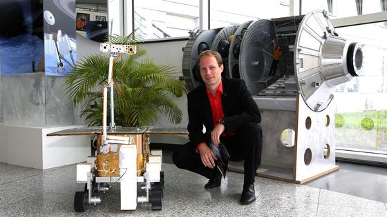 Dr. Jürgen Hill, Leiter der Fachgruppe Exploration im DLR Raumfahrtmanagement, vertritt das DLR in der International Space Exploration Coordination Group.