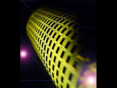 Elektronische Haut: Die dunklen Quadrate sind jeweils ein Pixel.