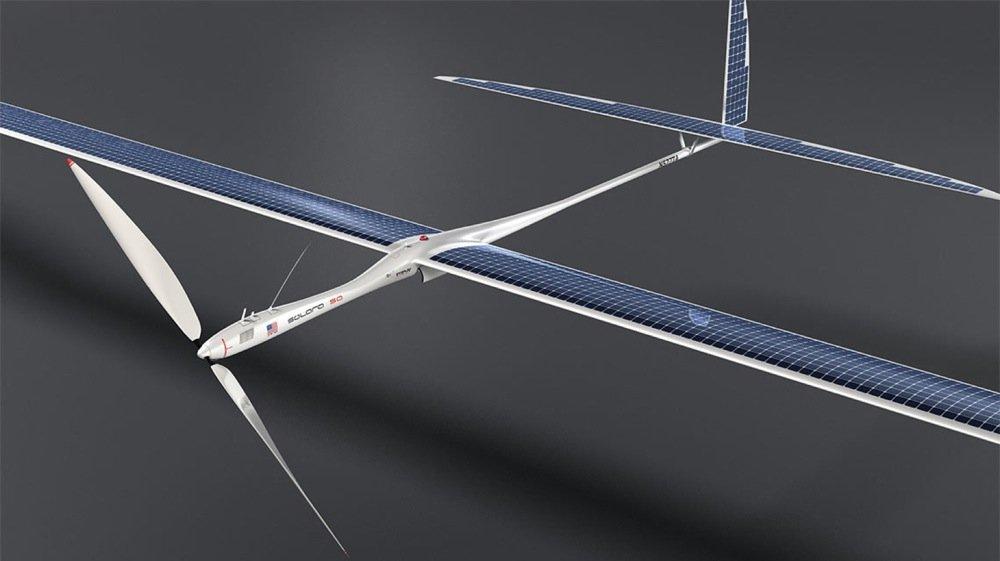3000 Solarmodule versorgen den Motor der Solara50 mit Energie.