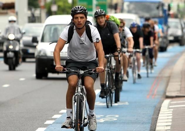 Möglichst kreuzungs- und ampelfrei soll es für Radfahrer durch London gehen.