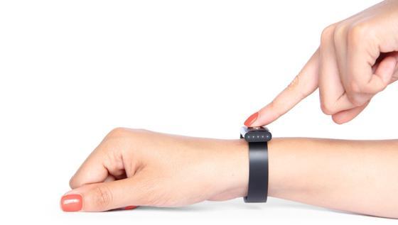 Dieses Armband nimmt das EKG und nutzt es als Erkennungsmerkmal.