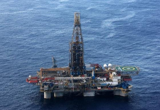 2011 entdeckte die Homer-Ferrington-Bohranlage von Noble Energy große Gasfelder vor der zypriotischen Küste.