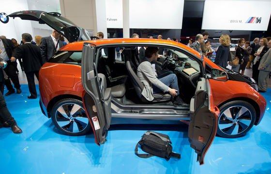 Große Hoffnungen setzt BMW auf sein Elektroauto i3, das auf der IAA in Frankfurt präsentiert wird.
