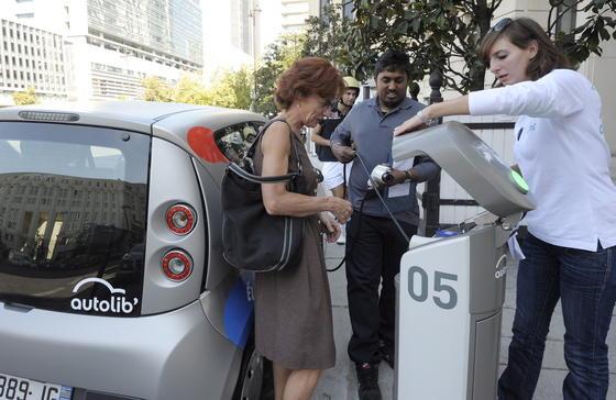 Autolib in Paris gilt weltweit als Vorzeigeprojekt für Elektromobilität.