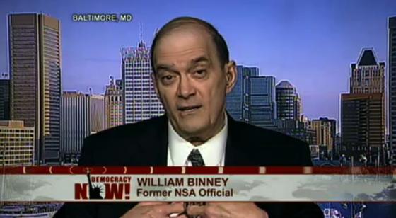 Whistleblower William Binney, früherer Technischer Direktor des amerikanischen Geheimdienstes: Die NSA kann über die meisten Menschen ein Profil erstellen. Die großen Datenmengen ermöglichen zudem Industriespionage.