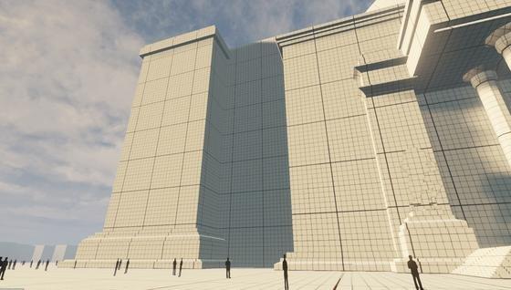 In der Zitadelle Spandau entsteht eine 3D-Visualisierung der Großen Halle aus den NS-Planungen zur Hauptstadt Germania. Besucher sollen im virtuellen Spaziergang Laufwege und Blickwinkel selbst bestimmen können.