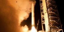 Beim Raketenstart der Ladee-Sonde wurde Frosch in die Luft gerissen
