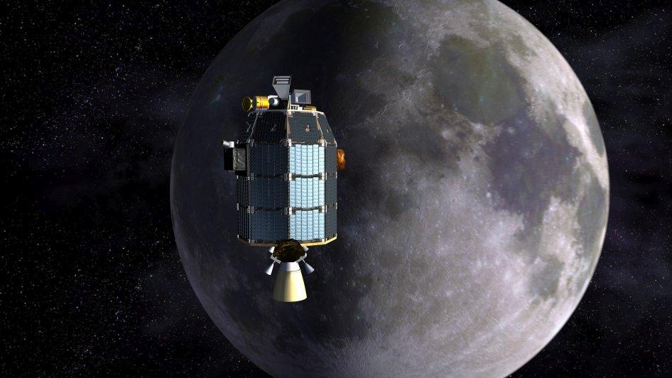 Die Raumsonde Ladee soll klären, ob es doch eine Mond-Atmosphäre gibt.