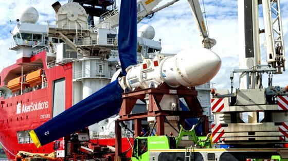 400 solcher Turbinen sollen für Europas größtes Gezeitenkraftwerk auf dem Meeresboden zwischen der schottischen Nordküste und den Orkney-Inseln installiert werden