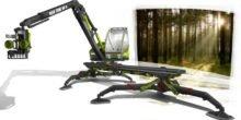 Sanfte Maschine schont den Waldboden