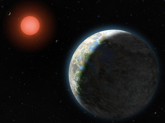Das Planetensystem Gliese 581 hält sich etwa 42,4 Milliarden Jahre lang am richtigen Ort im Planetensystem auf, um bewohnbare Verhältnisse zu bieten. Das sind ideale Voraussetzung, damit sich Leben entwickeln kann.