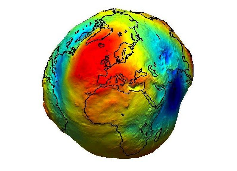Die Erde gleicht nur aus großen Entfernungen einer Kugel. Von Nahem betrachtet gleicht sie eher einer Kartoffel.