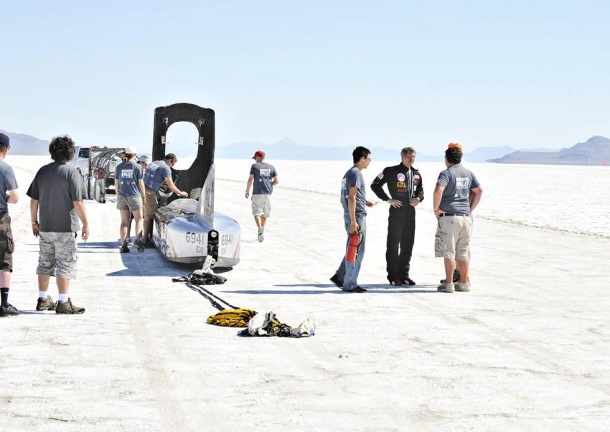 Venturi VBB-3 soll mit 600 km/h durch die Salzwüste rasen