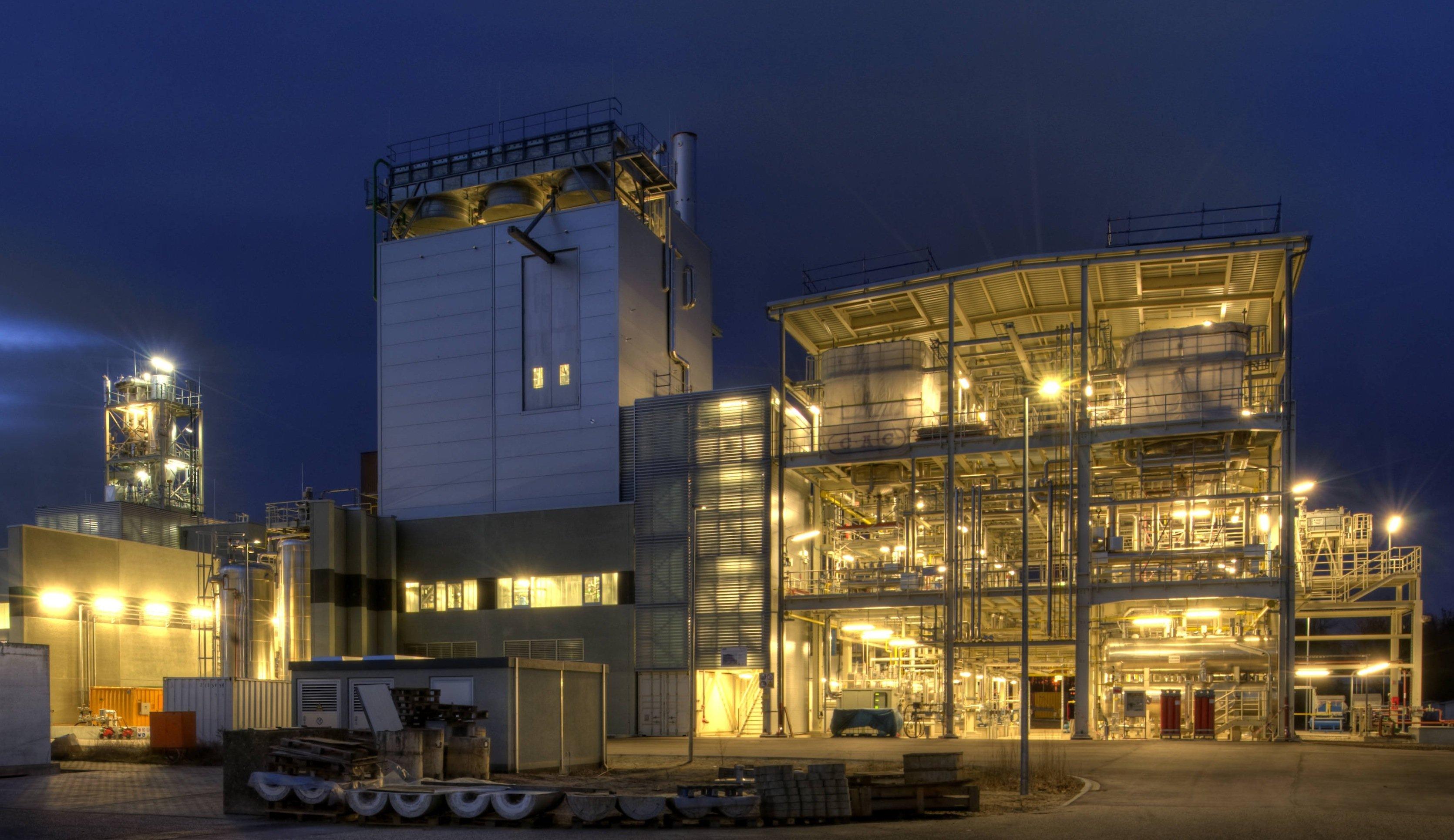 Die Pilotanlage am KIT in Karlsruhe soll nach ihrer Erprobung auch kommerziell eingesetzt werden.