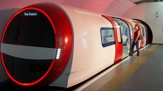 Inspiro: So sieht die Metro der Zukunft aus, die Siemens zurzeit in London präsentiert.