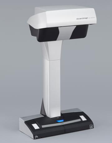 Der Overhead-Scanner ScanSnap Sv 600.