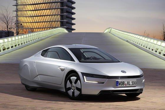 Das Ein-Liter-Auto XL1 von VW: Volkswagen ist das innovationsstärkste Unternehmen der Welt, so ein aktuelles Ranking der Unternehmensberatung Booz & Company.