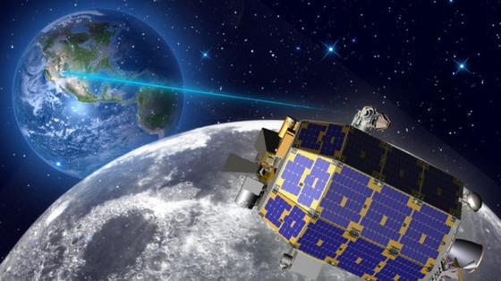 Per Laser lassen sich mehr Daten schneller übertragen als über Radiowellen.