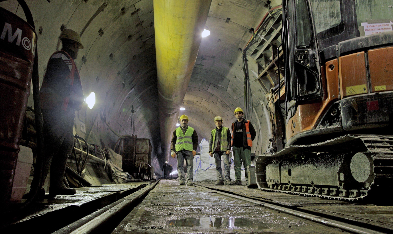 Ab 2015 soll der Marmaray-Tunnel auch dem Zugfernverkehr zur Verfügung stehen.