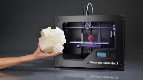 3D-Drucker für den Schreibtisch:Während 3D-Drucker schon in einer gewissen Vielfalt zur Verfügung stehen, erweisen sich die benötigten Druckmaterialien preisbedingt wohl noch auf längere Zeit als Engpass.