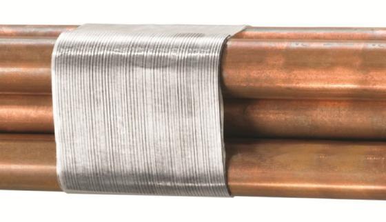 Der neue Klebstoff aus Synthese-Kautschuk haftet sogar auf öligen Metalloberflächen. Zusätzliche Robustheit erhält das Klebeband durch eine Glasfaserverstärkung. Sogar die Fixierung von tonnenschweren Stahlcoils soll dadurch möglich sein.