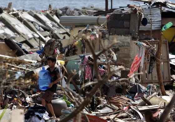 Haiyan machte rund 600 000 Menschen auf den Philippinen obdachlos. Mit Stürmen dieser Stärke ist in Zukunft häufiger zu rechnen.