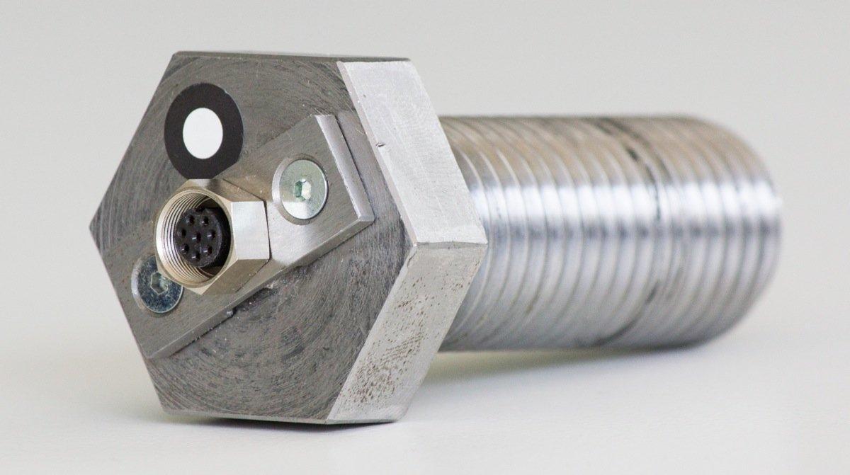 Die Lösung für ein altes Ingenieur-Problem: Die Sensorschraube erlaubt präzise Messungen aus dem Inneren von Maschinen.