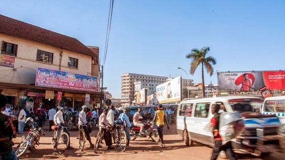 Kampala: Google hat die ugandische Hauptstadt mit einem Glasfasernetz von 100 Kilometern Ausdehnung ausgestattet.