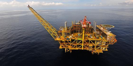Die Förderplattform Liwan-3 liegt in der Chinesischen See, 325 Kilometer südöstlich von Hongkong. Sie soll zukünftig bis zu vier Prozent des chinesischen Gasbedarfs decken.