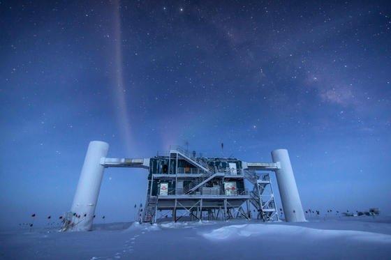 Das IceCube-Labor am Südpol.