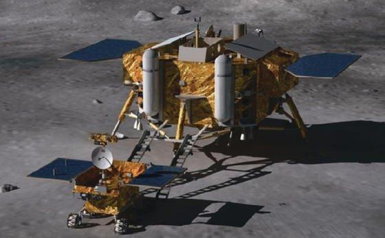 Der chinesische Mondrover Jadehase soll nach der Landung drei Monate lang die Oberfläche des Erdtrabanten erforschen. Die Regenbogenbucht bietet dafür beste Voraussetzungen: Sie ist flach und ermöglicht somit gute Kommunikation mit der Erdbasis. Zudem ist sie sonnig, so dass die Solarsegel des Rovers genügend Strom produzieren können.