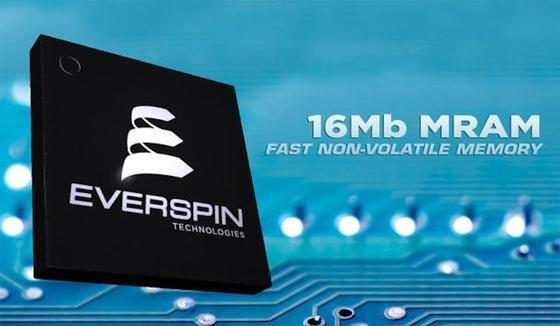 MRAM-Speicherchip von Evertim mit geringer Speicherleistung: Jetzt will ein Konsortium amerikanischer und japanischer Unternehmen einen neuen MRAM-Chip mit deutlich höherer Leistung entwickeln, der 2018 in Serie gehen soll.