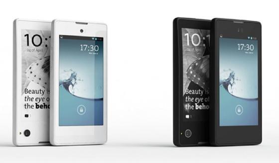 Für 499 Euro soll das Doppel-Display-Handy in schwarz oder weiß zu haben sein.