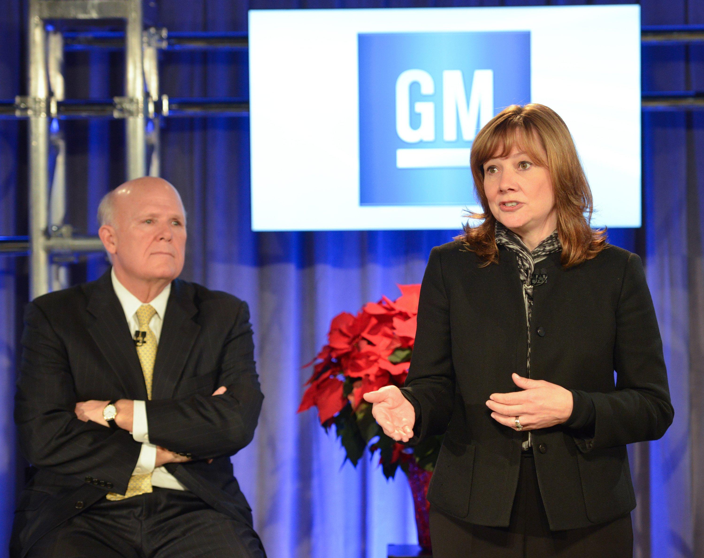 Die Elektroingenieurin Mary Barra wird im Januar Dan Akerson als GM-Chef ablösen. Sie ist die erste Frau an der Spitze eines großen Autobauers.