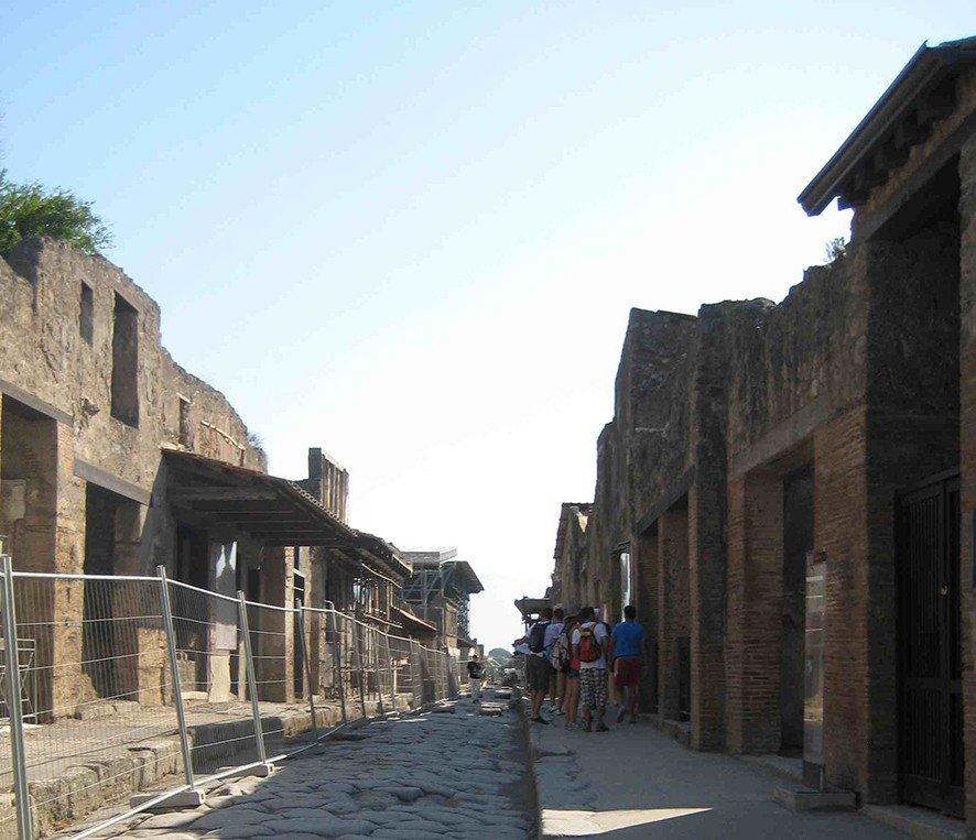 Die antike Stadt in der Region Kampanien zieht jährlich ca. 2,5 Millionen Besucher an.
