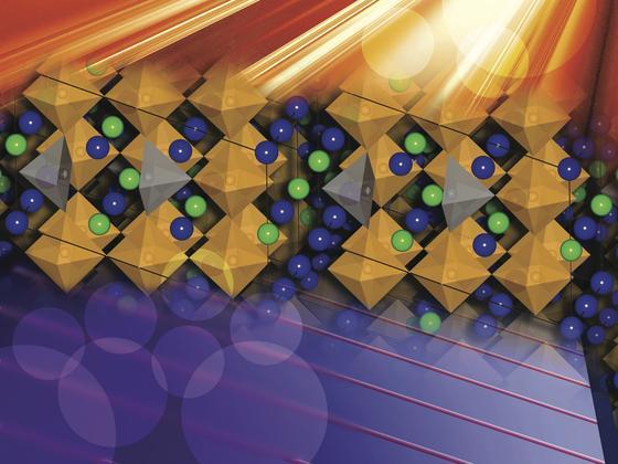 US-Forscher haben eine Keramik entwickelt, die sich zum Einsatz in Solarzellen eignet. Nach Angaben der Forscher senkt die Keramik deutlich die Herstellungskosten, ist aber trotzdem hoch effizient.