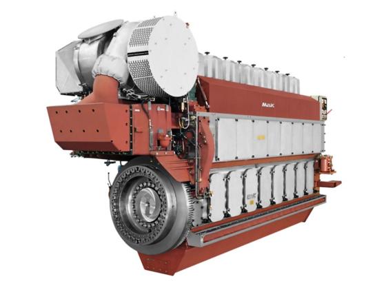 """Der neuartige Ein-Zylinder-Motor, den die Universität Rostock in den nächsten Jahren entwickeln will, wird auf Basis des MaK M 34 DF Zweistoffmotors von Caterpillar individuell konstruiert. Der sogenannte """"Dual-Fuel-Motor"""" läuft sowohl mit Diesel oder Schweröl als auch mit Gas."""
