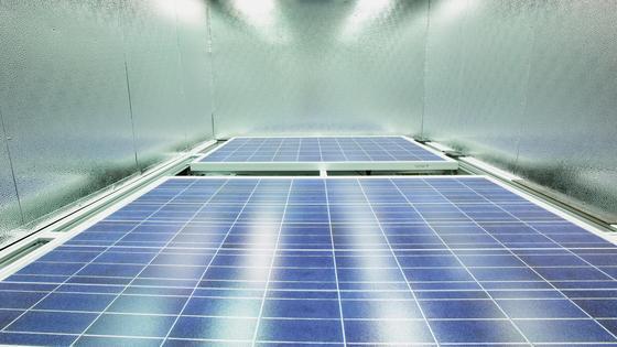 Photovoltaik: Wachstum im zweistelligen Bereich.