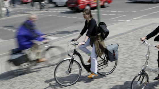 Der Stadtverkehr ist nicht auf E-Bikes und Co. vorbereitet.
