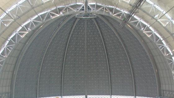 Die TU Berlin entwickelt ein Monitoring-System, das die Tragfähigkeit von Hallendächern überwachen soll.