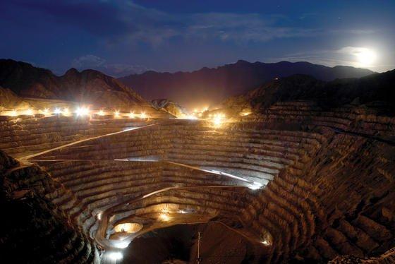 Goldmine des Rohstoffkonzerns Goldcorp in Argentinien. Den Einsatz von Quecksilber im Goldabbau will die EU nun einschränken.