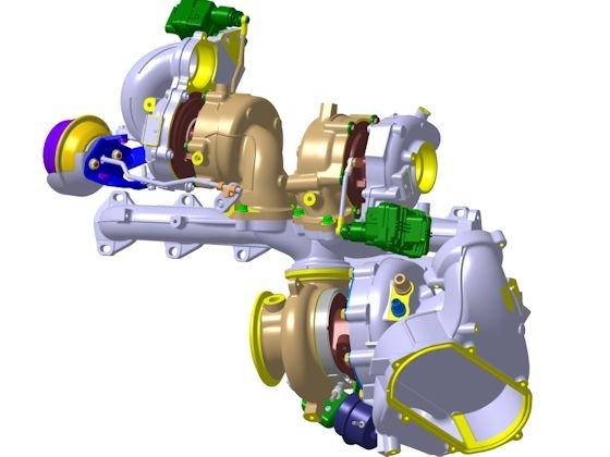 Mehrfach aufgeladene Turbomotoren stoßen in neue Leistungsregionen vor
