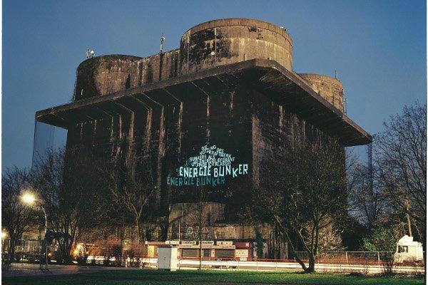 Der Hochbunker aus dem 2. Weltkrieg soll als Energiespeicher 3000 Wohnungen in Hamburg mit Energie und Wärme versorgen.