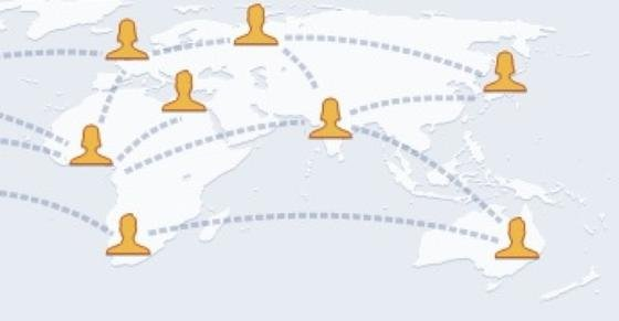 """Wo Facebook-Nutzer wann mit wem im Netz unterwegs waren, kann mit dem vom amerikanischen Rüstungskonzern Raytheon entwickelten Programm """"Riot"""" überwacht werden."""