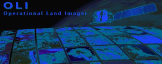 Der Operational Land Imager (OLI) arbeitet mit zwei Spektralbereichen, um Veränderungen auf der Erdoberfläche zu registrieren.