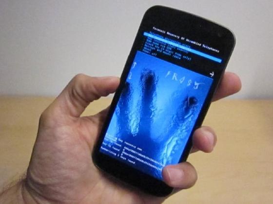Sicherheitslücke im Betriebssystem Android 4.0: Frostig gibt das Smartphone verschlüsselte Daten preis.