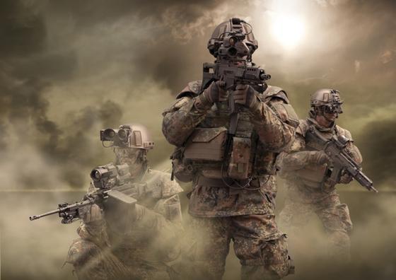 Mit dem Gladius-System will sich die Bundeswehr in der Ausrüstung ihrer infanteristischen Kräfte international an die Spitze in puncto Vernetzung, Führungsfähigkeit und Effizienz im Einsatz setzen.