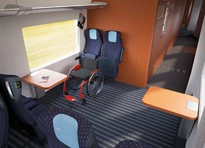 Beim ICx ist der Fahrgastraum modular aufgebaut.