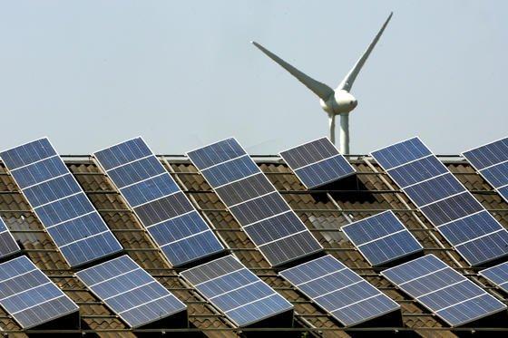 Power-to-Gas gilt als eine Möglichkeit zur Speicherung von überschüssigem Wind- und Solarstrom.